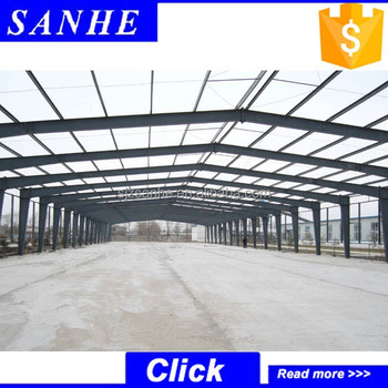 Prefabricated Mild Steel Frame Structure Building / Steel Structure ...