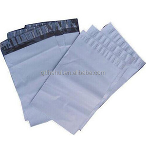 high quality self sealing grey color mailer postal bags