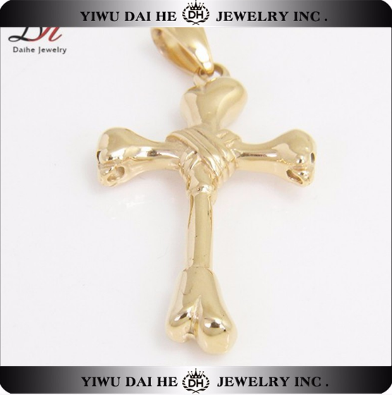 daihe stainless steel customized couple necklaces gold jewellery dubai