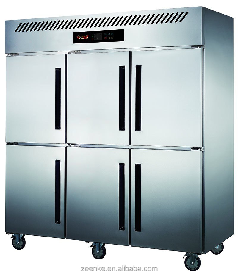 big double door refrigerator/used deep freezer for sale/used meat display refrigerator