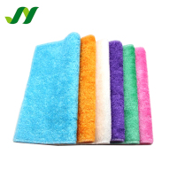 5% Discount Double-deck Oil Free Kitchen Cleaning Bamboo Fibre Towel Dish Washing Cloth
