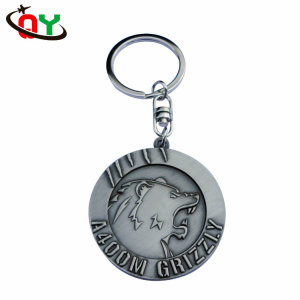 Make Your Own Design Custom Promotional Gifts Metal Keychain With Brand Car Logo