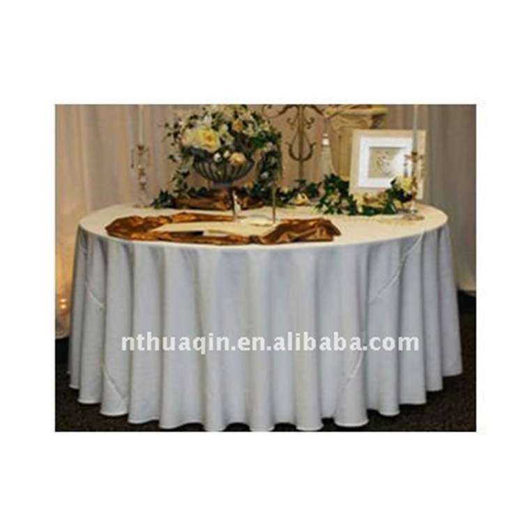 Awe Inspiring Polyester Table Cover White Round Tablecloth For Hotel Wedding Table Linen Buy Round Decorative Table Cover Decorator Round Table Tablecloths Table Beutiful Home Inspiration Ommitmahrainfo