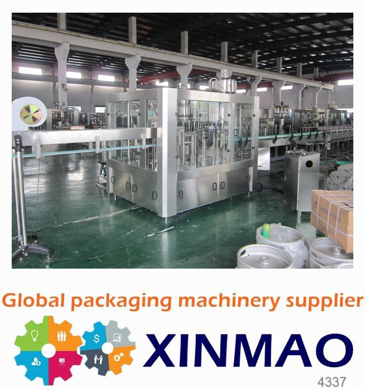 Xin Mao Brand juice processing plant cost /juice hot filling line