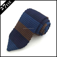 100% silk business tie/point end shape knitted tie