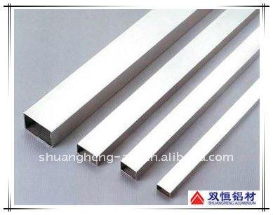 Ampliamente utilizado aluminio tubo cuadrado y tubo - Perfil cuadrado aluminio ...
