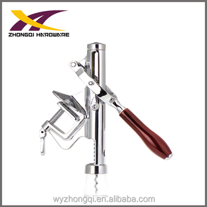 Table mounted corkscrew made of aluminum alloy wine opener bottle opener