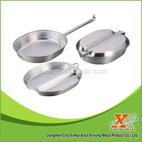 Stainless Steel Camping Mess Tin Mess Kit Lunch Box