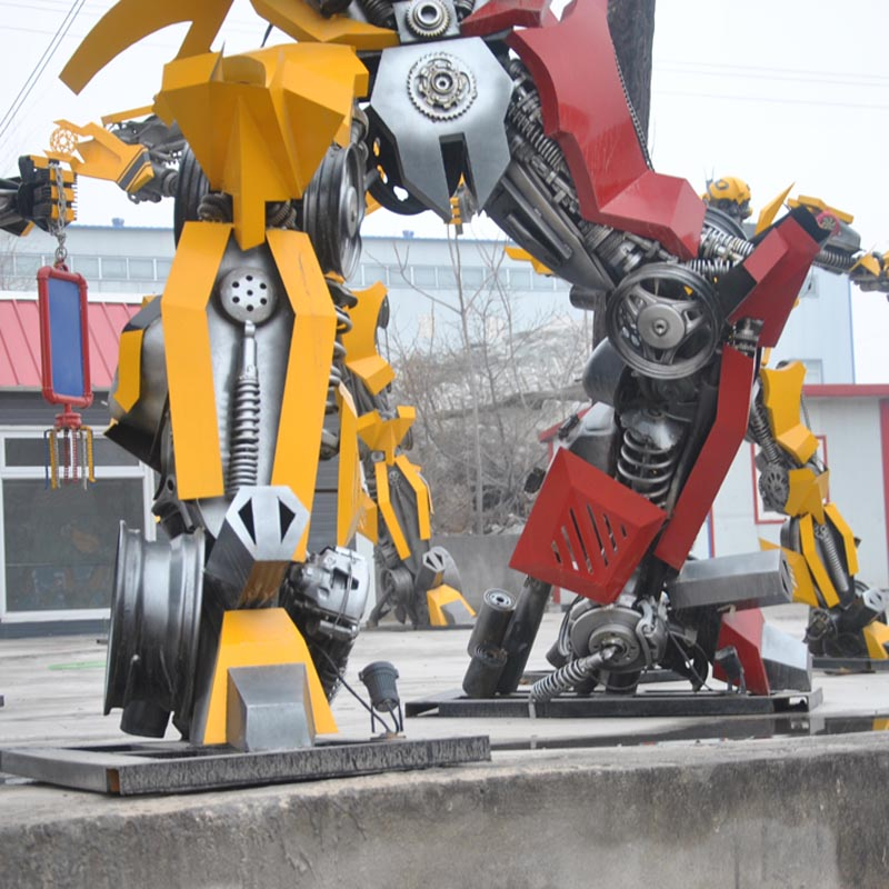 Large Size Metal Transformer Statue Sculpture Buy