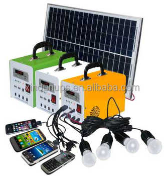 Hot Ing 10w 20w 30w Mini Solar Lighting System Portable Dc Kits For Home Systems