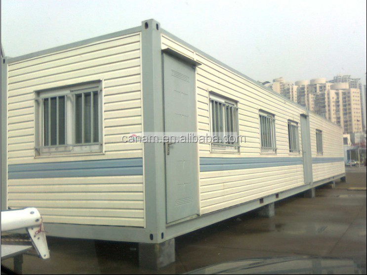 Modulare flat pack shipping container house