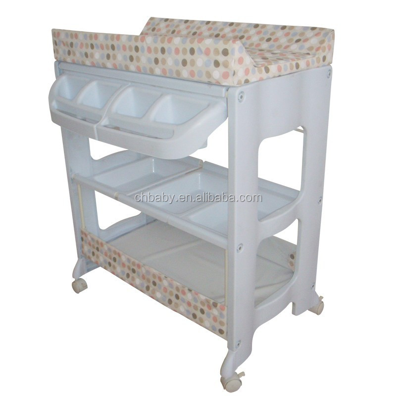 Baby Changing Table With Customize Pvc Hot Ing Stand Price And High Quality Top Bath