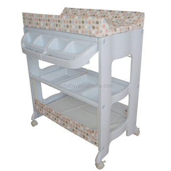Superbe Baby Changing Table With Customize Pvc/hot Selling Baby Stand With Cheap  Price And