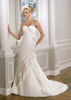 2014 newest elegant best price chiffon bridal gown #OW236