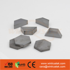 Ballistic Silicon Carbide / SSiC Ceramic Tile / For Armored Vehicle
