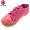 Suger Candy Color Canvas Upper Lace-up Fashional Kid's Shoes