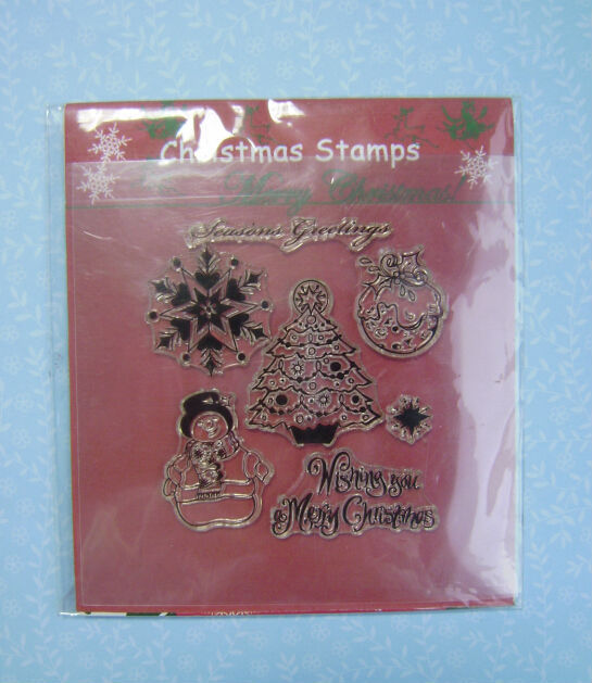 wholesale hot stamping scrapbook Christmas clear stamp