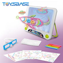 Hot Sale Kids Educational 3D Drawing Toy Magic Writing Board