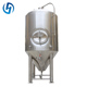 commercial beer copper industrial fermentation tank
