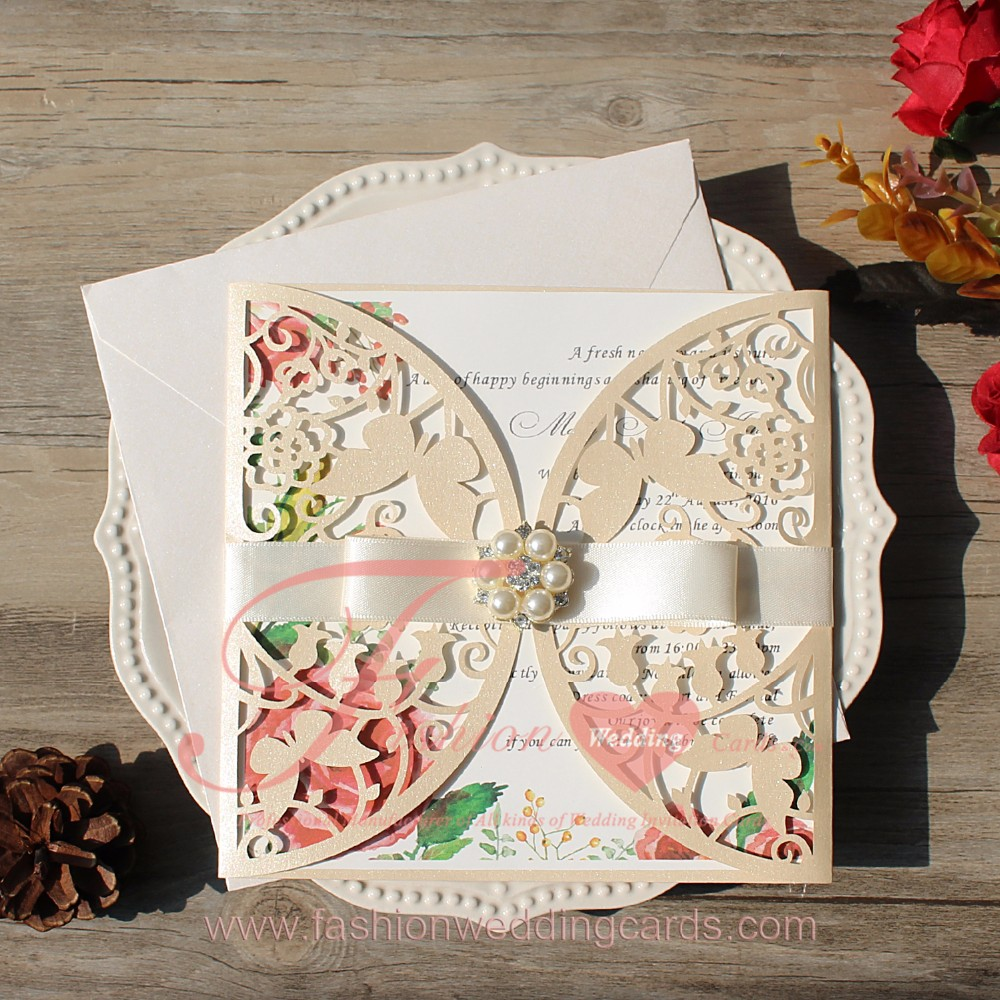 Wholesale Laser Muslim Indian Style Wedding Invitation Card - Buy ...