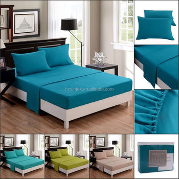 4 Piece Deep Pocket Egyptian Comfort Hotel Quality Luxury Checker Bed Sheets Set