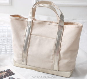 Oversized Canvas Shopping Bag 3d7c434a73dfc