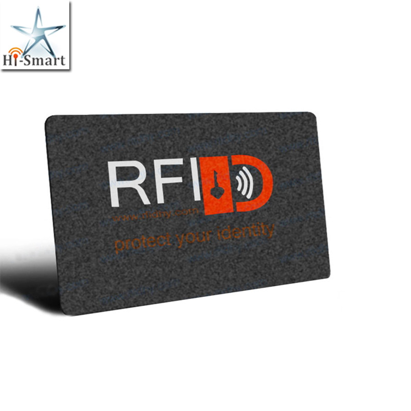 Factory Price Customized Printing Credit Card/Debit Card/ID Card Anti Scanning RFID Card Blocker Card