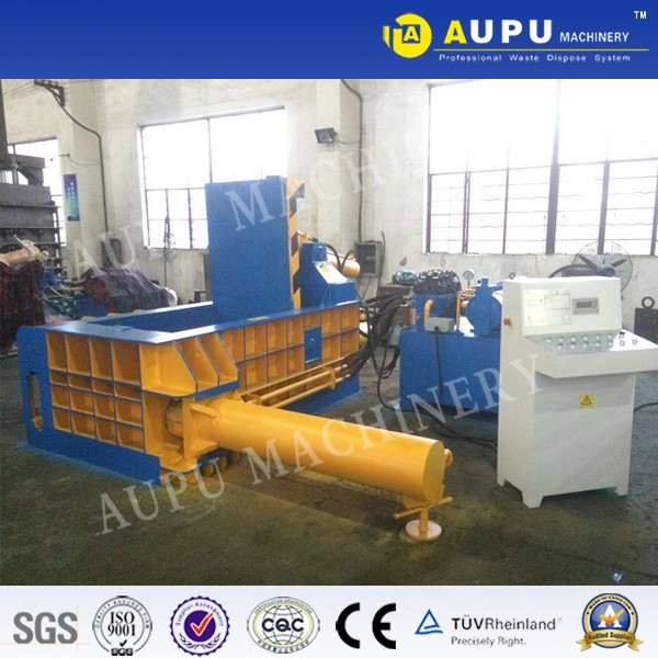 hydraulic press baler machine used for compressed steel copper aluminum iron metal and scrap metal