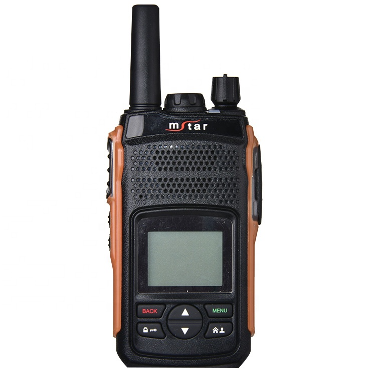 Mstar M-208 GPS Chiaro Contengono Display A LED Digitale A Due Vie Radio Walkie Talkie