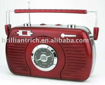cd retro radio buy cd retro classic retro product on. Black Bedroom Furniture Sets. Home Design Ideas