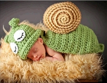 Queena Snail baby photography manual knitting wool all-match Photo Props