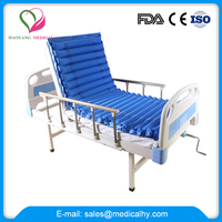 High quality patient care 3 function hospita bed with air mattress