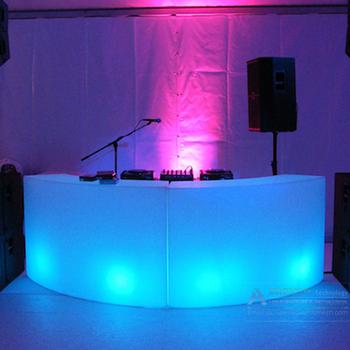Led Light Dj Bar Table Desk