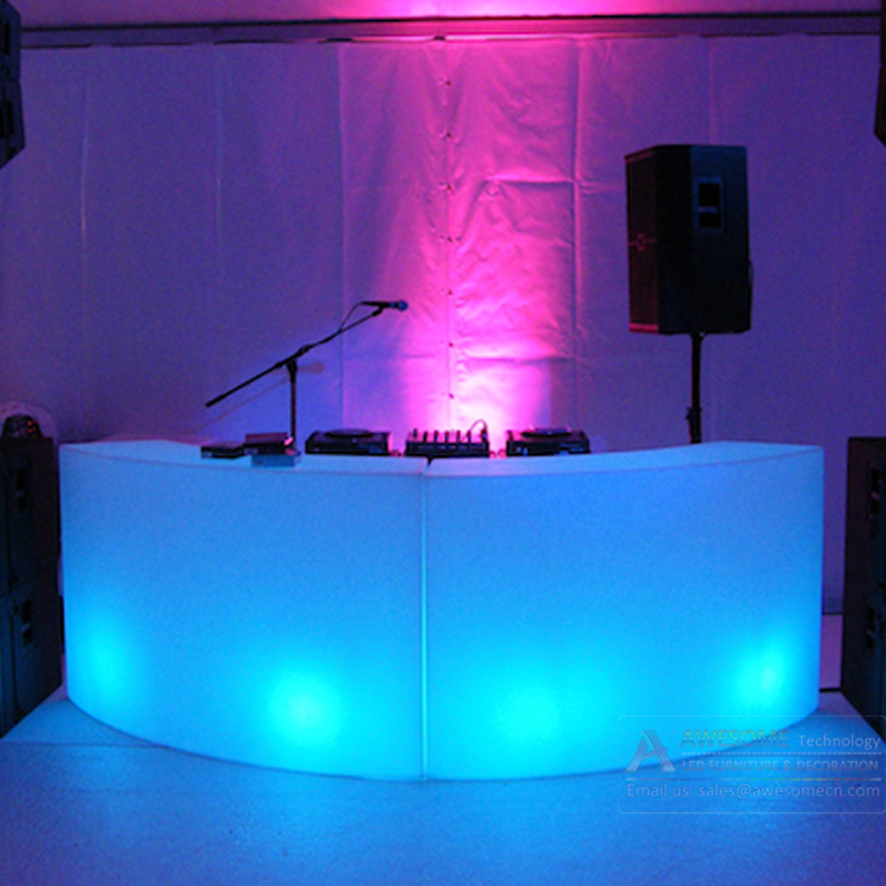 Event Dj Furniture Led Light Bar Table Desk Lighting Music Counter