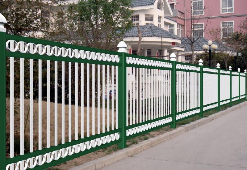 zinc steel fence made in China used for residence community high quality