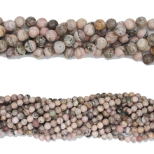 FH-JSG0010040 Rhodochrosite 6mm loose beads, Natural grain gemstone beads jewelry