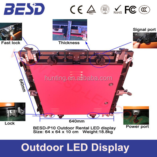 2014 China HD XXX Video Play Commercial Outdoor Advertisng LED Screen