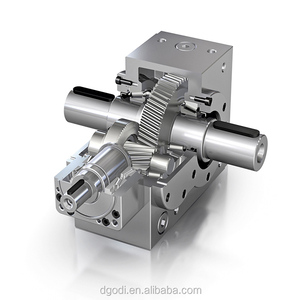 High quality stainless steel bevel gear box, right angle gear box