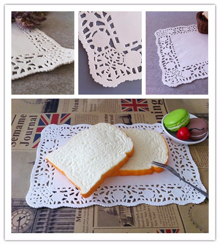 High quality cheap price eco-friendly disposable rectangular paper doilies 2019 widely sale