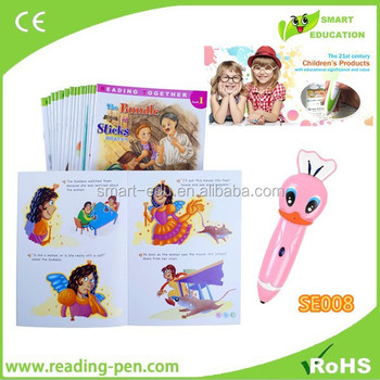 Best Oid Tech Children Sound Book Talking Pen Learn English And Spanish  Russian - Buy Reading Pen For Kids,Children Sound Book & Reading  Pen,English