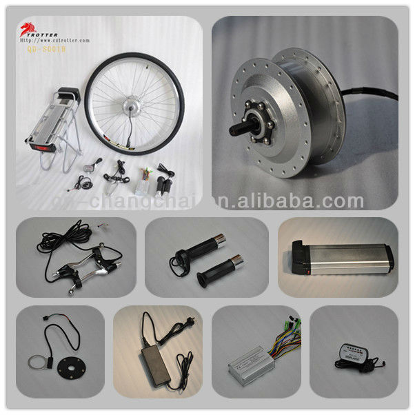 DIY electric bicycle kit QD-S001B & E-bike spare parts, CE Approved
