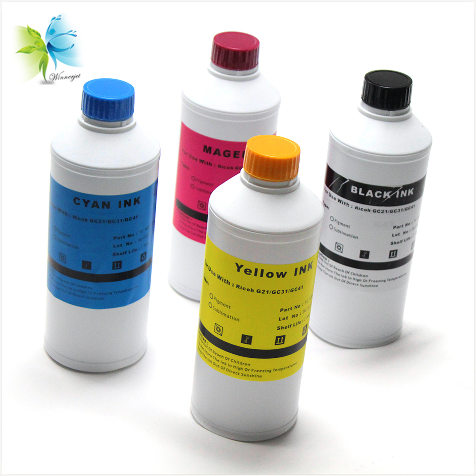 China products cotton fabric sublimation ink for RICOH T shirt printing press