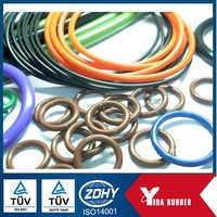 mini colorful o ring viton o ring rubber o ring with standard of JIS AS GB