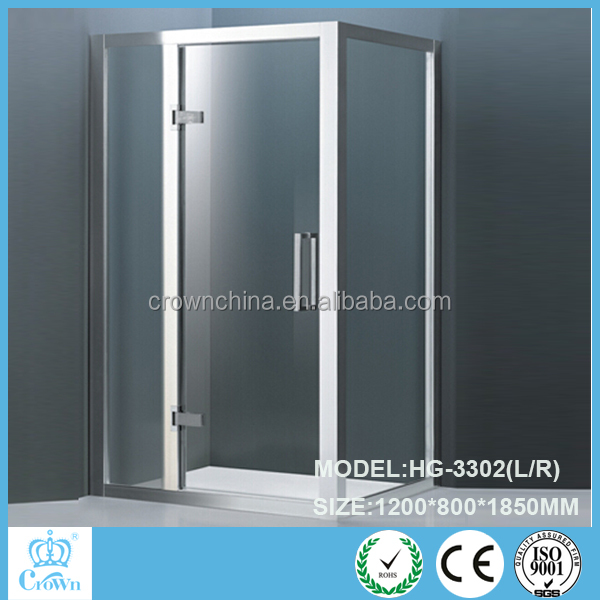 tempered glass new design painted red shower cabin HG-831
