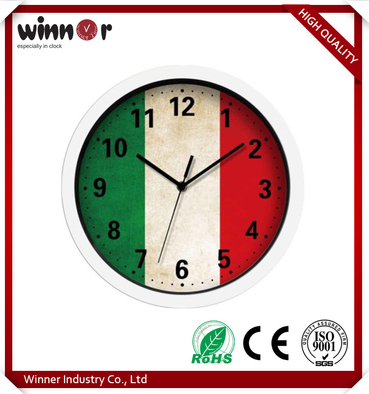 China factory directly sell British/USA/Italy style home deco digital wall clock
