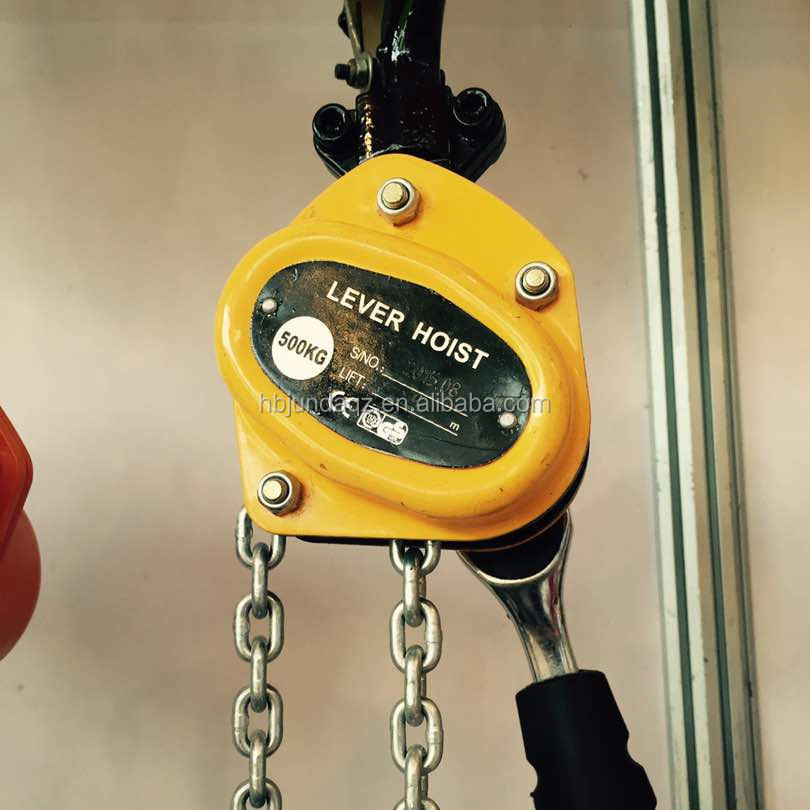 1 5 Ton 3 Ton 6 Ton 9 Ton Lever Chain Hoist/lever Block For Sale - Buy  Material Handling Equipment,China Lever Block,Lever Chain Block Mini Hoist