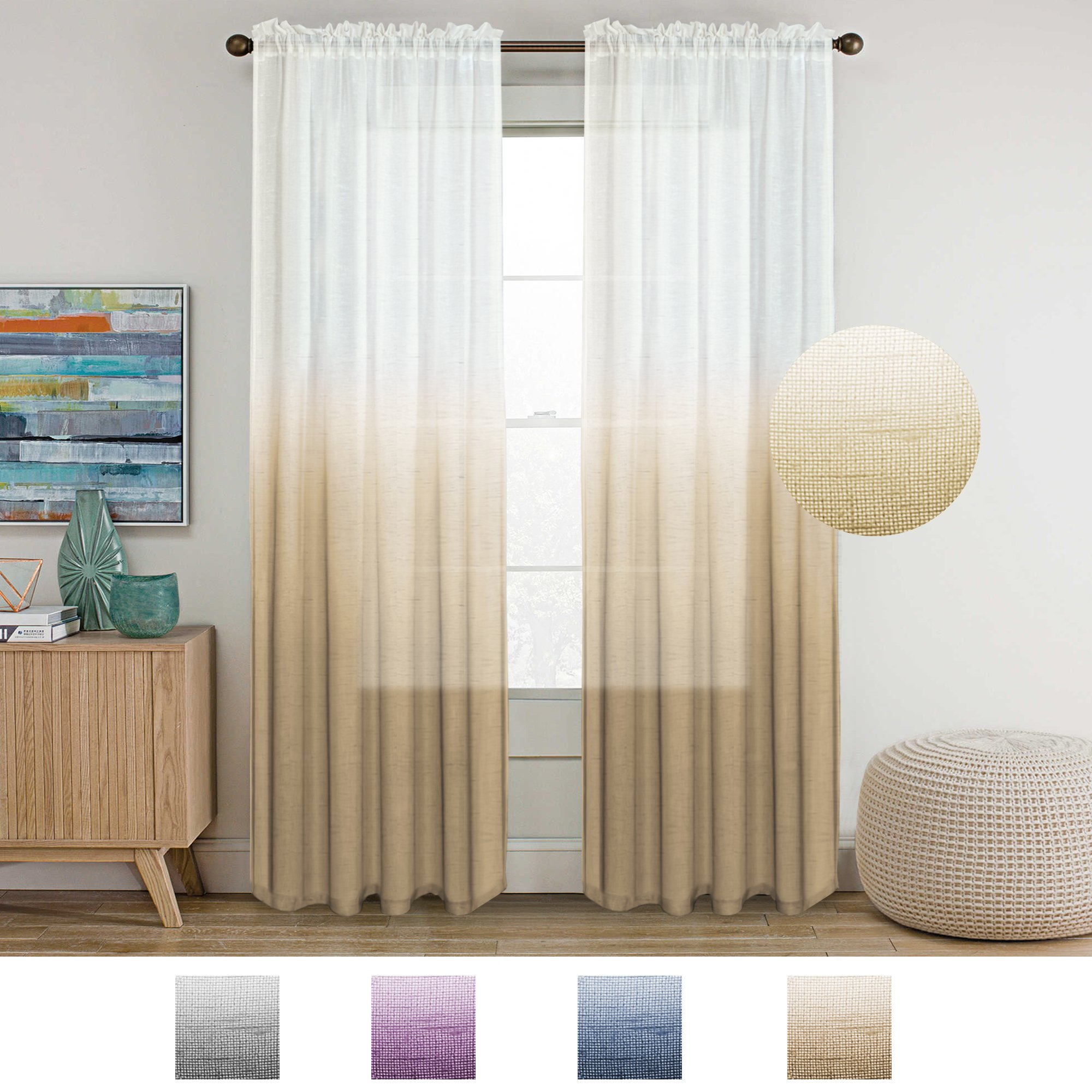 Cheap Natural Linen Sheer Curtains Find Natural Linen Sheer Curtains Deals On Line At Alibaba Com