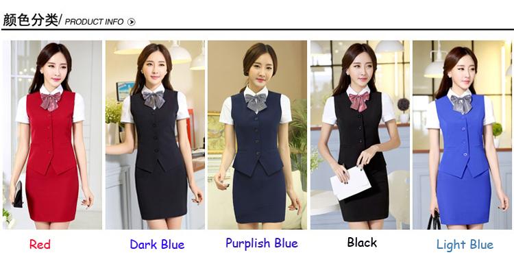 Best seller uniform hotel front officehotel housekeeping uniform