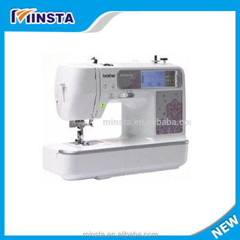Small Home Use Single Head Computerized Embroidery Machine Price Simple Embroidery Sewing Machine Computerized