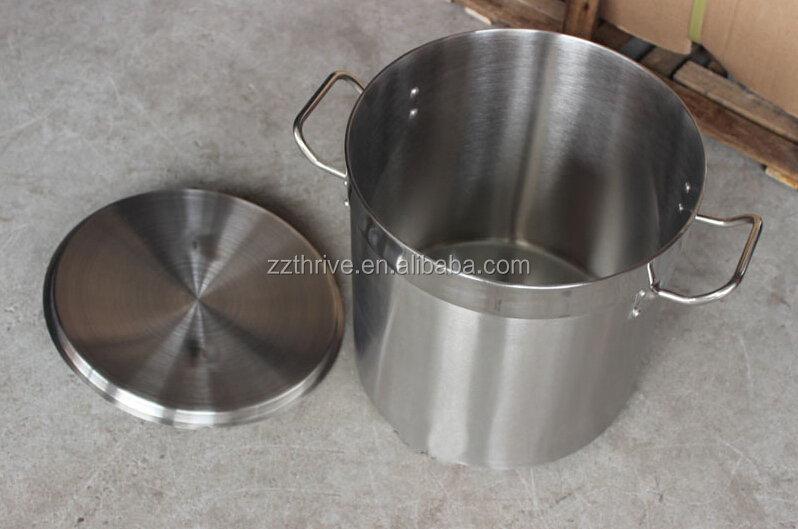100l Commercial Stainless Steel Stock Pot,House Use Stock Pot ...